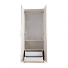 Closet dos puertas dos gavetas