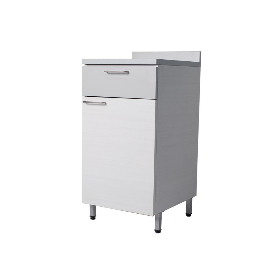 M dulo piso una puerta una gaveta muebles axis for Modulos muebles de cocina