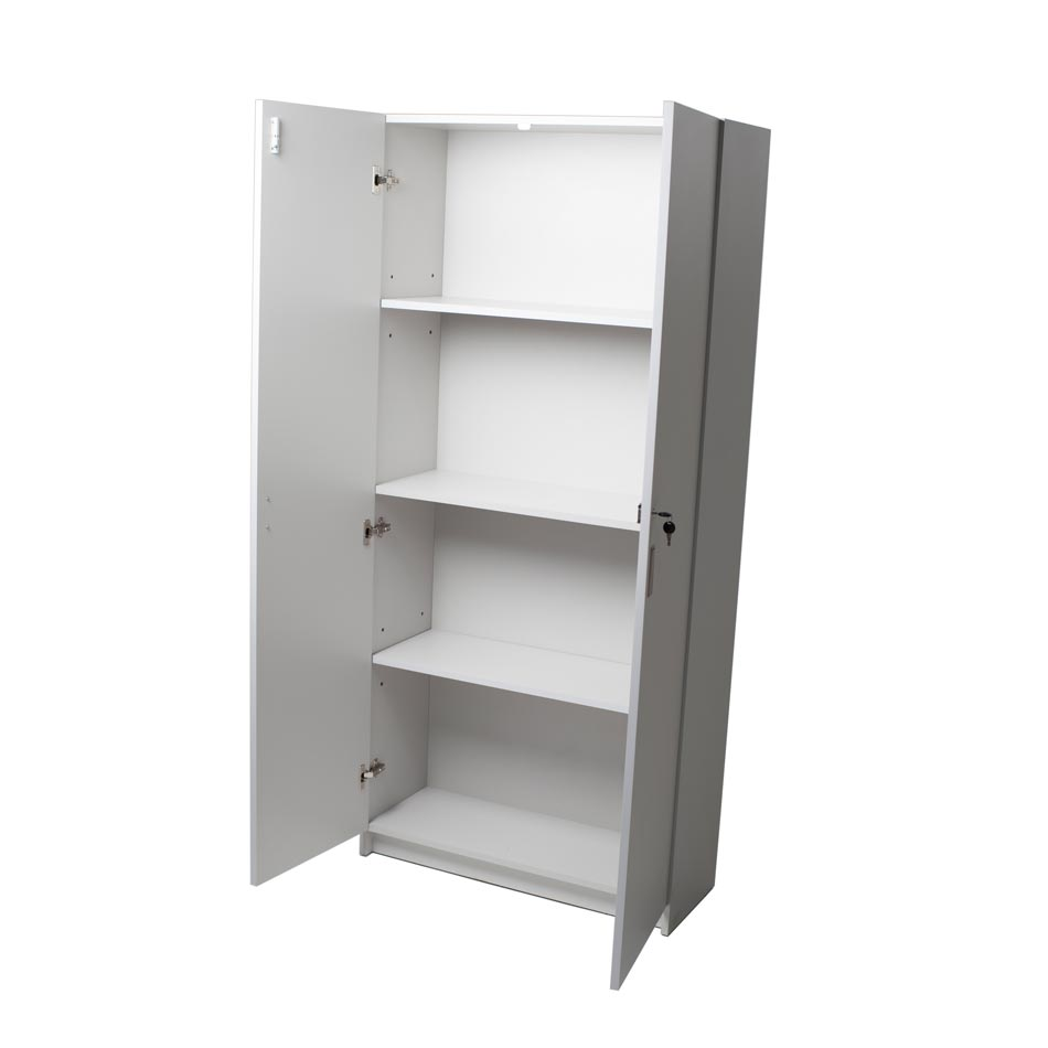 Biblioteca dos puertas muebles axis for Muebles de oficina con llave