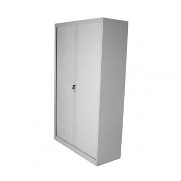 Biblioteca con puertas corredizas tipo persiana muebles axis - Muebles con puertas corredizas ...
